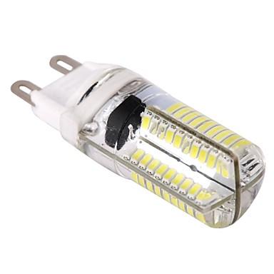 400lm G9 LED Mısır Işıklar T 80 LED Boncuklar SMD 3014 Kısılabilir Sıcak Beyaz Serin Beyaz 110-130V
