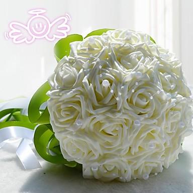 Düğün Çiçekleri Buketler Düğün Dantel Polyester 11.02