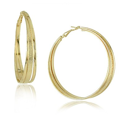 Women's Earrings Fashion Alloy Round Jewelry Daily Costume Jewelry