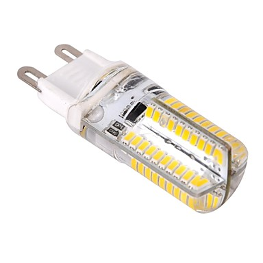 YWXLIGHT® 1pc 4 W 400 lm G9 LED-kornpærer T 80 LED perler SMD 3014 Mulighet for demping Varm hvit / Kjølig hvit 220-240 V