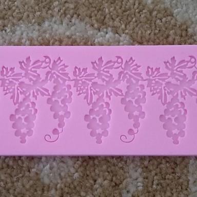 druer formet blonder fondant kake sjokolade silikon mold cupcake kake dekorasjon verktøy, l19.7cm * w5.5cm * h0.5cm