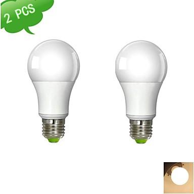 E26/E27 - 10 W- Α - Σφαιρικές Λάμπες ( Θερμό Λευκό