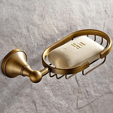 Soap Dishes & Holders High Quality Antique Brass 1 pc - Hotel bath