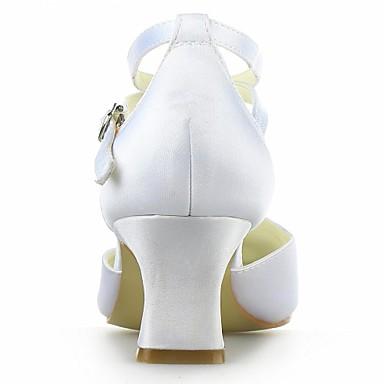 Chaussures Eté Violet Satin pour Boucle Heel royal Femme Salomé Jaune Kitten Bleu 02571283 Rose Mariage Argenté qap17Exdw