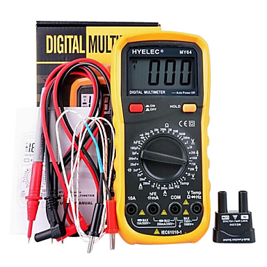 hyelec® my64 de înaltă calitate 2000 contează multimetru digital