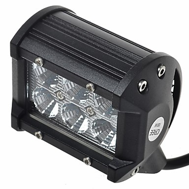 Auto / Militär Fahrzeuge / Kommunikations KfZ Leuchtbirnen 18W LED High Performance 1260LM 6pcs Arbeitsscheinwerfer