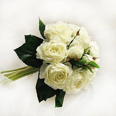 Esküvői virágok Csokrok Esküvő Party / estély Pamut Szatén 6,69