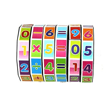 Matematikai játékok Fejlesztő játék Játékok Környezetbarát Műanyag Klasszikus Darabok Gyermek Ajándék