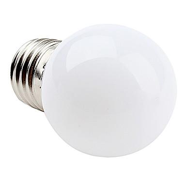1W E26/E27 LED Globe Bulbs 12 leds SMD 3528 Warm White Cold White 90-120lm 2700/6000K AC 220-240V