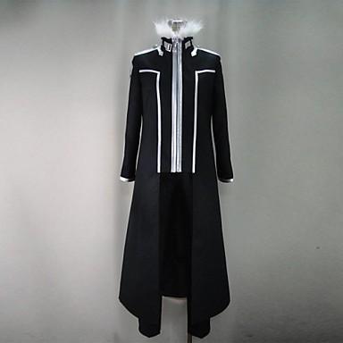 Esinlenen Sword Art Online Kirito Anime Cosplay Kostümleri Cosplay Takımları Kırk Yama Uzun Kollu Palto / Pantalonlar / Eldivenler