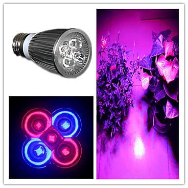 ZDM® 1pc 5.5W 5W 300-500lm E26 / E27 Growing Light Bulb 5 LED Beads High Power LED Purple 85-265V