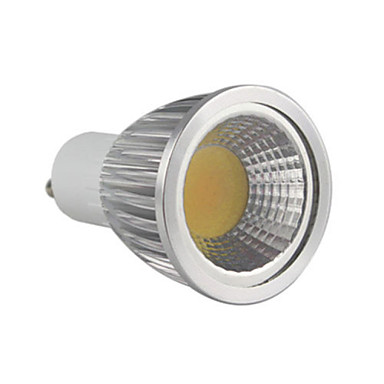 5.5W 500-550lm GU10 LED Spotlight MR16 1 LED Beads COB Dimmable Warm White 220-240V