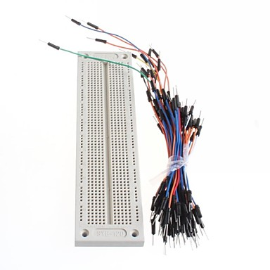 For Arduino Accessory Cable + Breadboard SYB-120