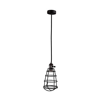 Pendant Light ,  Retro Painting Feature for Mini Style Metal Living Room Dining Room Kitchen Kids Room Game Room Hallway Garage
