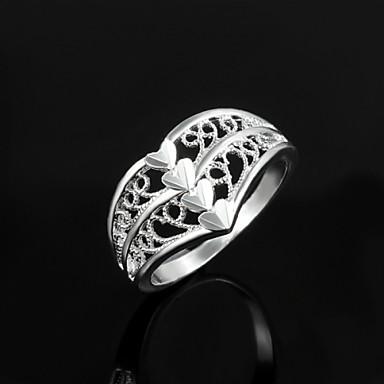 Statement-sormus-Sterling-hopea-Vintage / Sievä / Juhla / Toimisto / Vapaa-aika