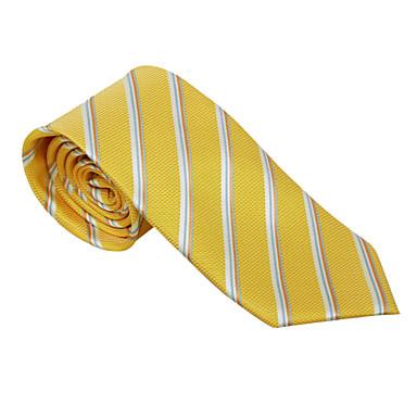 sárga csíkos nyakkendő