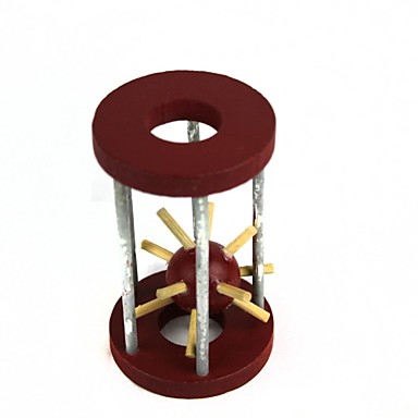 Unlock Puzzle Toy Wooden Cage