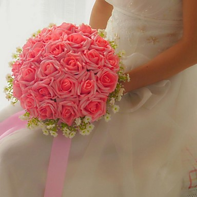 100 Manual A Făcut Flori Artificiale 24 Trandafiri Buchet De