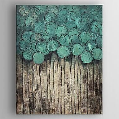 Kézzel festett Absztrakt Függőleges, Klasszikus Hagyományos Vászon Hang festett olajfestmény lakberendezési Egy elem