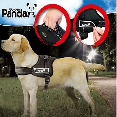 Собака Ремни Регулируется / Выдвижной На подкладке Нейлон Черный Красный Камуфляж цвета