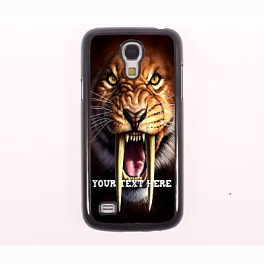 Personalized Phone Case - Tiger Design Metal Case for Samsung Galaxy S4