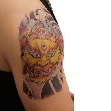 Tetkó matricák Állatos sorozatok Nagy méret Alsó hát Waterproof Férfi Felnőtt Boy Tini flash-Tattoo ideiglenes tetoválás