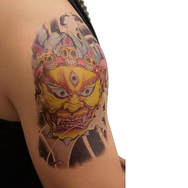 Tattoo Stickers Animal Series Large Size Lower Back Waterproof Men Adult Boy Teen Flash Tattoo Temporary Tattoos