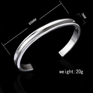 Damen - Breiter Armreif Silber Armbänder Für Geburtstag Verlobung