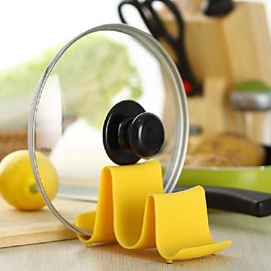 Herramientas de cocina Acero inoxidable Cocina creativa Gadget Soporte Para utensilios de cocina 1pc