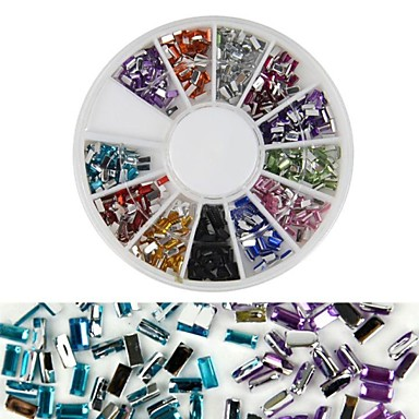 1 Украшения для ногтей Блеск и Пудре Декоративные наборы Мода Милый Высокое качество Повседневные