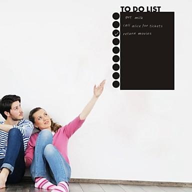 αυτοκόλλητα τοίχου αυτοκόλλητα τοίχου, PVC μαυροπίνακα αυτοκόλλητα τοίχου αυτοκόλλητα τοίχου
