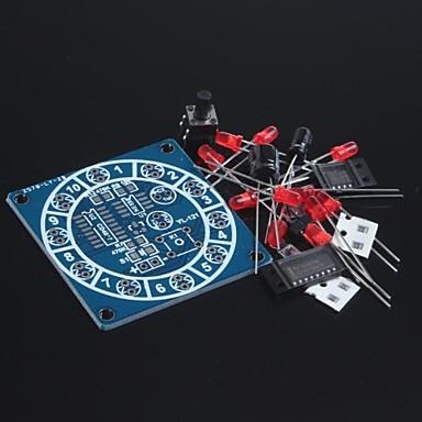 elektronisk lykkehjulet kit / morsomme elektroniske kits / elektroniske terninger / DIY elektronisk produksjon