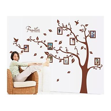 Κινούμενα σχέδια Βοτανικό Αυτοκολλητα ΤΟΙΧΟΥ Αεροπλάνα Αυτοκόλλητα Τοίχου Αυτοκόλλητα Φωτογραφίας, Βινύλιο Αρχική Διακόσμηση Wall Decal