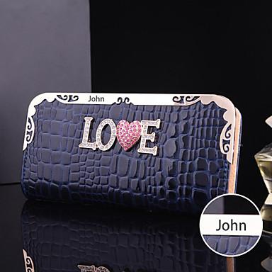 faux δέρμα, μέταλλο πορτοφόλι εξατομικευμένες γυναίκες δώρου (εντός 10 χαρακτήρες)