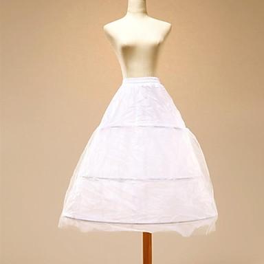 Esküvő Slipek Tüll Térdig érő Sellő fazonú és testhezálló ruha val vel