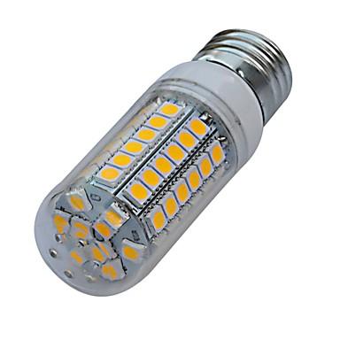E26/E27 LED Corn Lights T 69 SMD 5050 560-630lm Warm White Cold White 3000-3200K/6000-6500K AC 220-240V