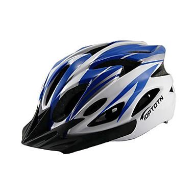 Bike Helmet 18 Vents Mountain EPS, PC Road Cycling / Recreational Cycling / Cycling / Bike Black / Red / Blue