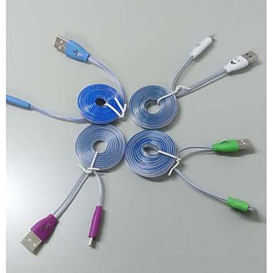 Mikro USB Kablo Samsung için Plastikler
