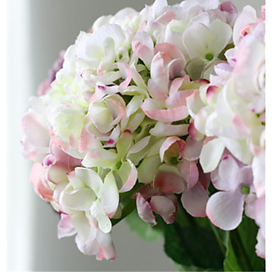Luxury Large Colorful Pink Hyfrangeas Artificial Flowers