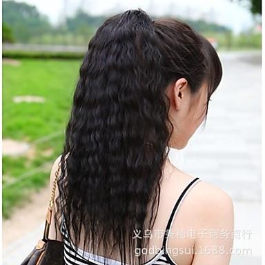 Pferdeschwanz Raffhalter Gute Qualität Synthetische Haare Haarstück Haar-Verlängerung Klassisch Alltag