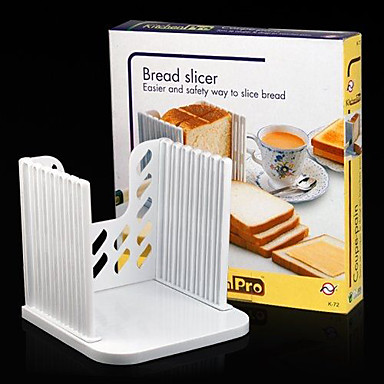 Bread Toast Sandwich Slicer Cutter Mold Maker Kitchen Guide Slicing Tools  16*16*2cm