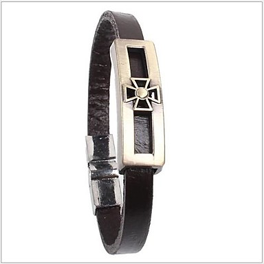 Tina -- Fashion Alloy Accessories Leather Bracelet in Party
