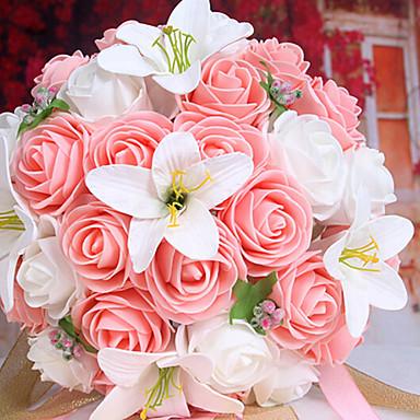 Искусственные Цветы 1 Филиал Свадебные цветы Лилии Букеты на стол