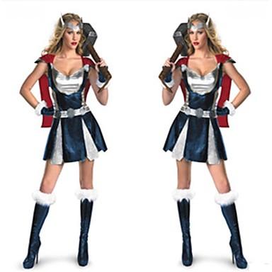 Superhelden Cosplay Kostuums Film cosplay Rok Handschoenen Kerstmis Halloween Nieuwjaar Katoen