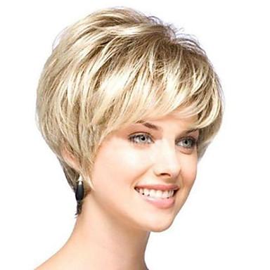 ms hoge temperatuur draad natuurlijke krullend gouden haren