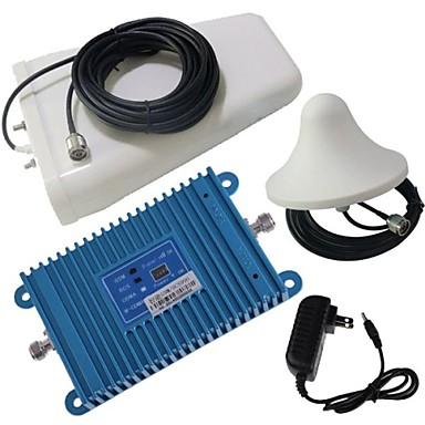 intelligencia lcd kijelző dual band GSM / DCS 900 / 1800MHz mobiltelefon jelerősítő erősítő + antenna készlet