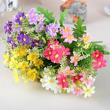 1 Podružnica Svila Plastika Tratinčice Cvjeće za stol Umjetna Cvijeće