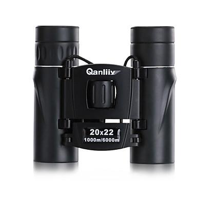 Qanliiy 20X22 Jumelles Haute Définition Imperméable Vision nocturne Télescope Coffret de Transport Générique BAK4 Entièrement