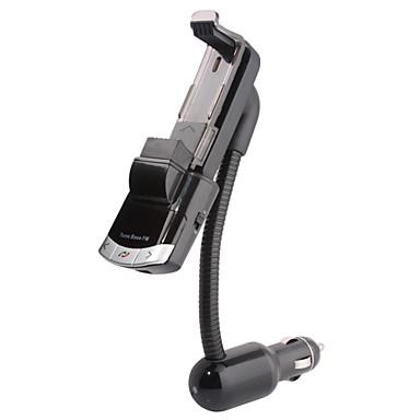 bluetooth handsfree bilmonteringssett, bluetooth 4.0 / FM-sender / billader / mobiltelefonholder