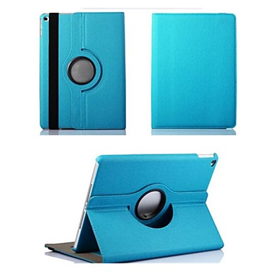 Case For iPad Air 2 with Stand Origami 360° Rotation Full Body Cases Solid Color Textile for iPad Air 2